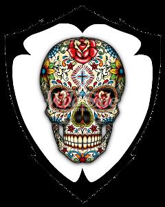 Vereinswappen: Dia de los Muertos