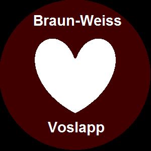 Vereinswappen: Braun-Weiss Voslapp